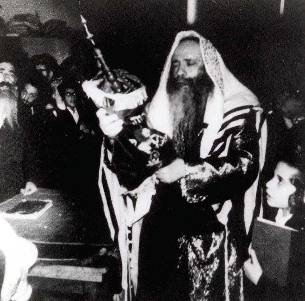 Rabbi with Torah
